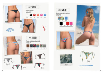 Art 12137 tanga colaless Art 12661 tanga colaless estampada Art 12670 tanga colaless con volado